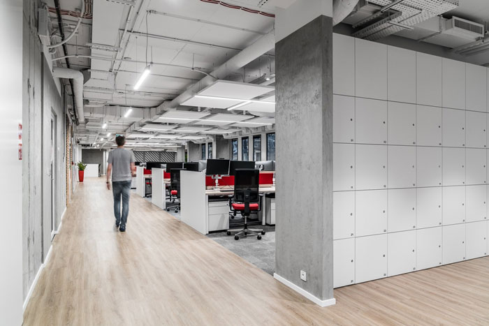 3600平方办公室办公区装修设计效果图