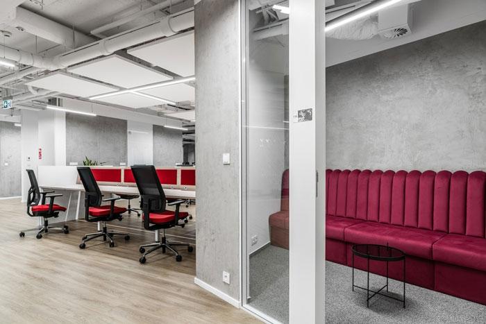 3600平方办公室办公交流室装修设计效果图