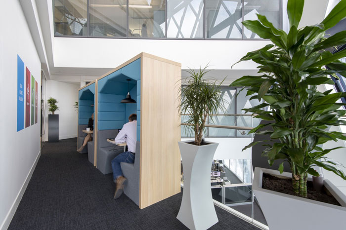 370平方办公室独立办公区装修设计效果图