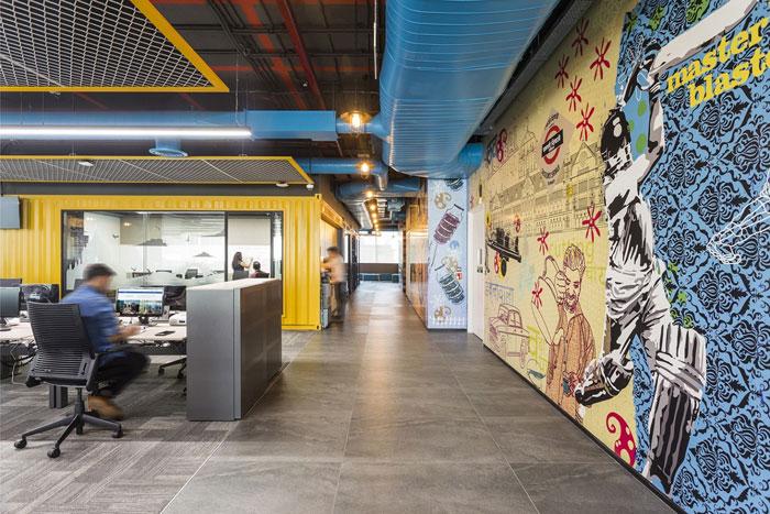 880平方办公室办公区装修设计效果图