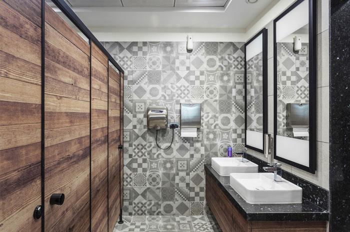 880平方办公室卫生间装修设计效果图
