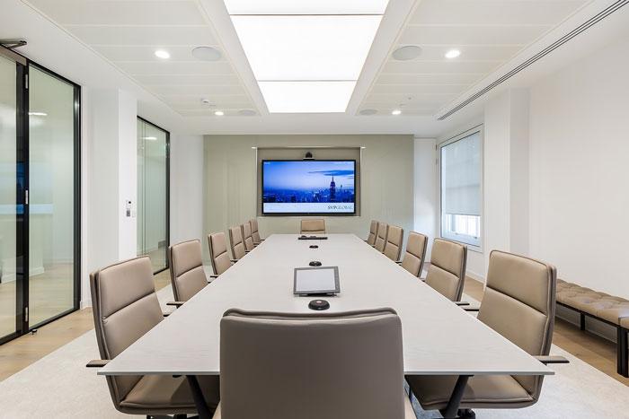 投資公司辦公室會議室裝修設計效果圖