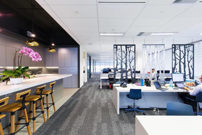 能源公司办公室装修设计效果图