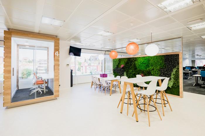 食品公司办公室装修设计效果图
