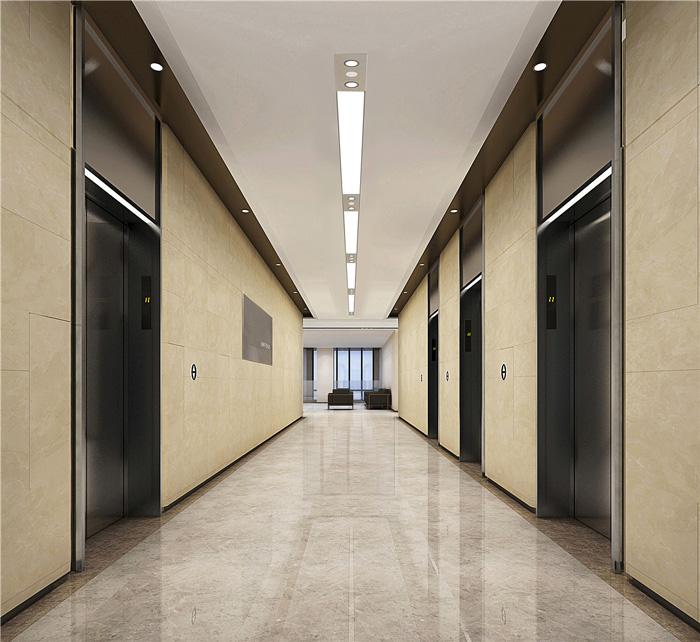 写字楼电梯间装修设计效果图