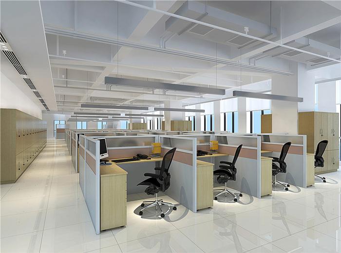 写字楼办公区装修设计效果图