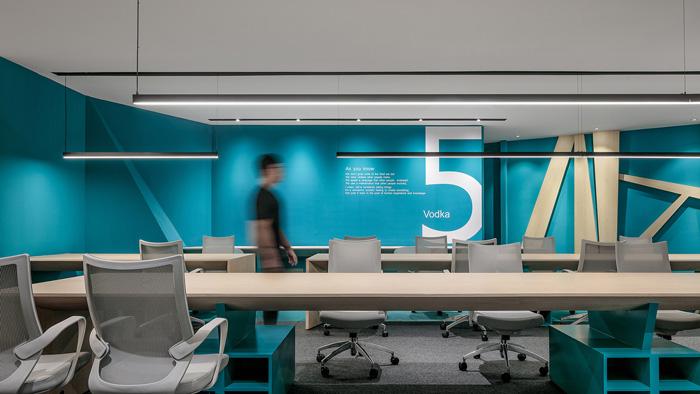 科技办公室装修设计效果图