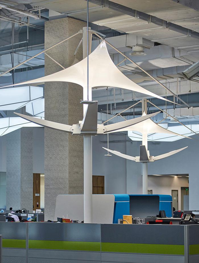 办公楼办公区装修设计效果图