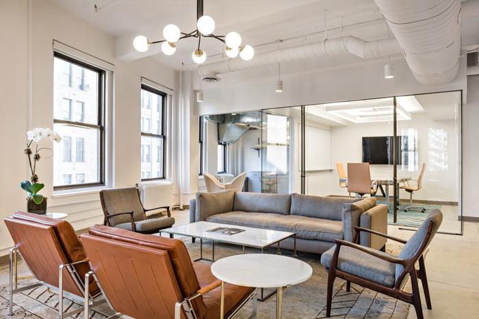 280平方办公室装修设计效果图