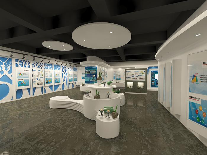 创业园办公室展厅装修设计效果图