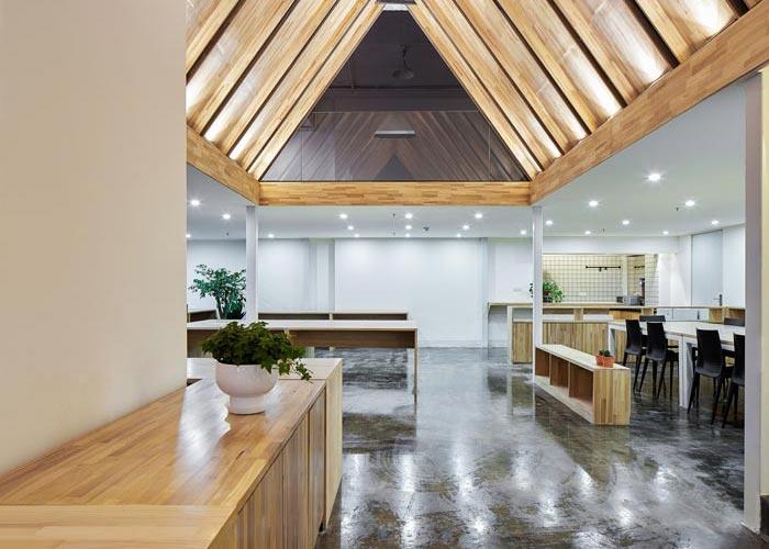 loft金融办公室装修设计效果图