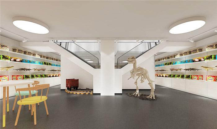 玩具公司展厅装修设计效果图