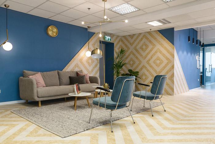 生物技术公司办公室装修设计效果图
