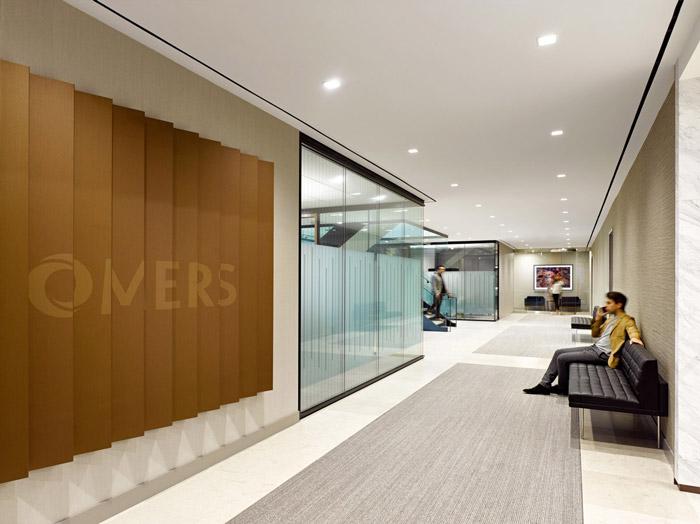 基金公司办公室过道装修设计方案