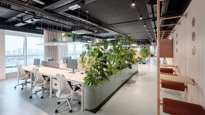 传媒办公室办公区装修设计方案