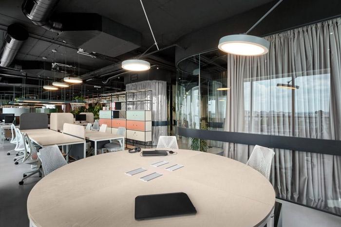 传媒办公室讨论区装修设计方案