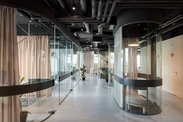 传媒办公室交流区装修设计方案