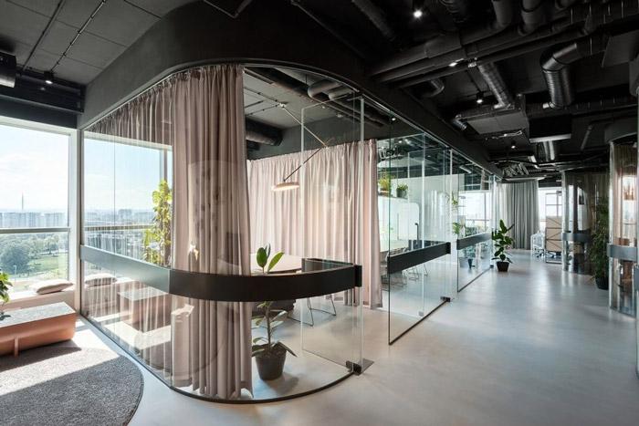 传媒办公室洽谈区装修设计方案