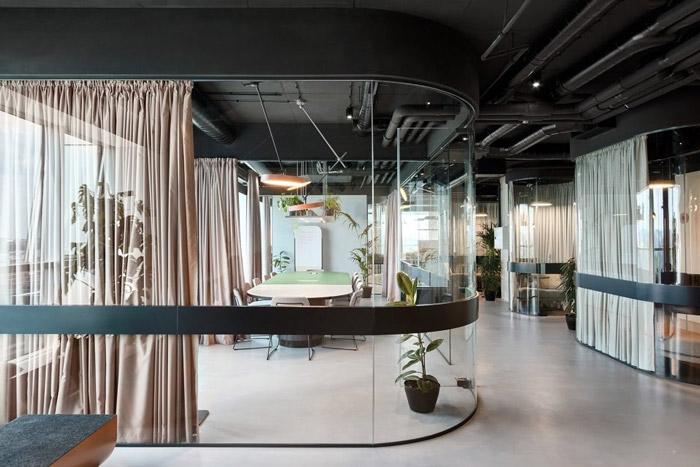 传媒办公室会议室装修设计方案