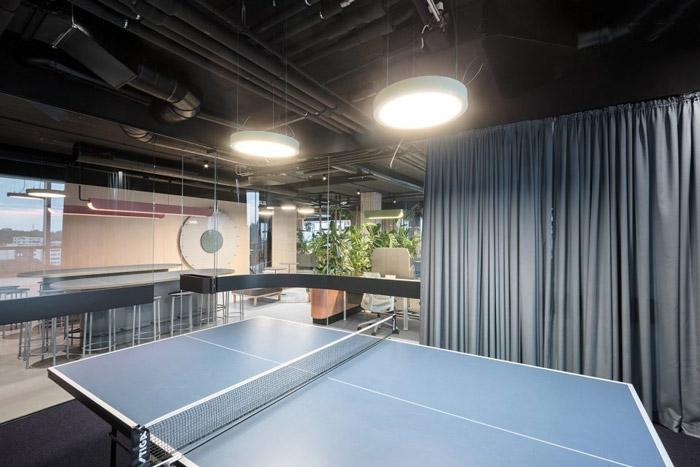 传媒办公室休闲区装修设计方案