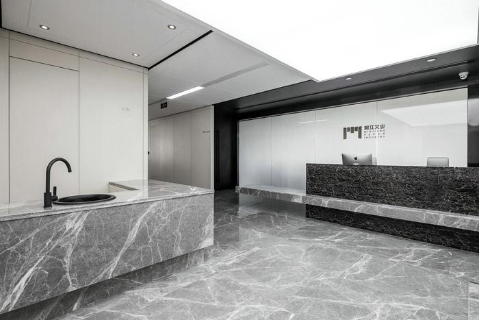 600m2现代办公室装修设计效果图