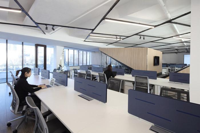 互联网办公室装修效果图_岚禾办公室设计