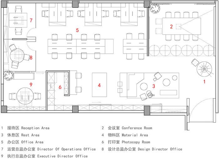 顾问公司办公室设计方案