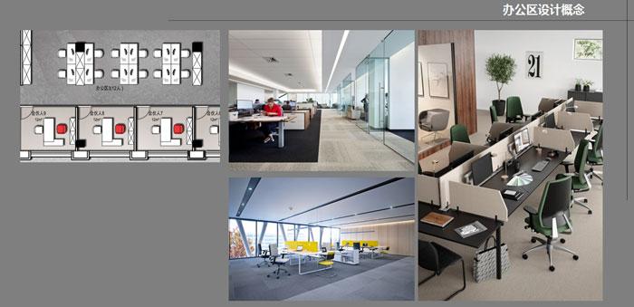 办公区域设计概念
