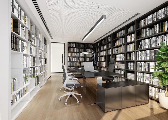 杭州律师事务所总经理办公室装修设计效果图
