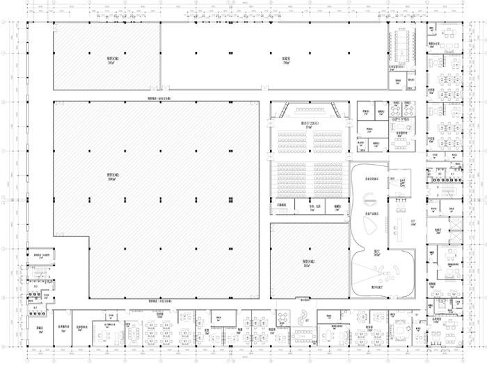 杭州鸿世电器办公楼3F平面图