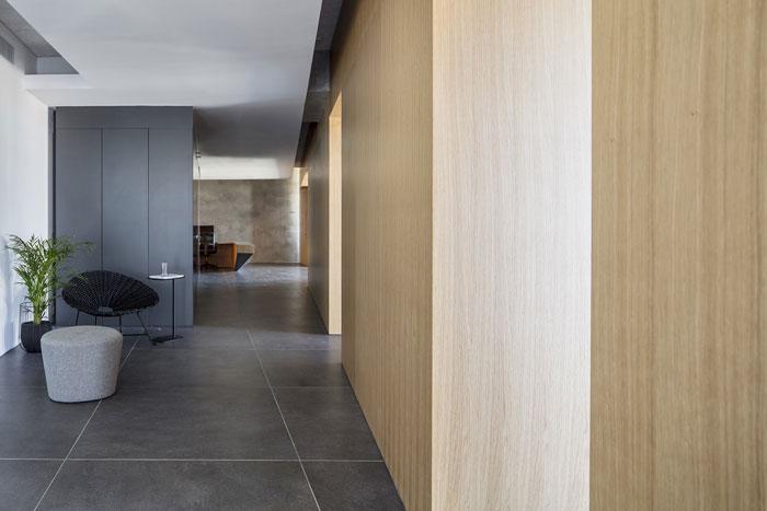 策划公司办公室走廊装修设计效果图