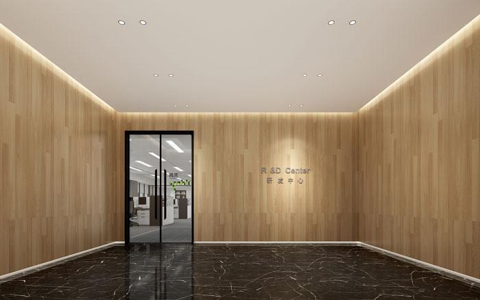 杭州智能厂房办公楼研发中心装修设计效果图