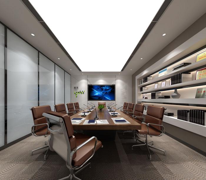 杭州厂家办公室会议室装修设计效果图
