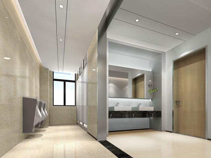 杭州厂家办公室卫生间装修设计效果图