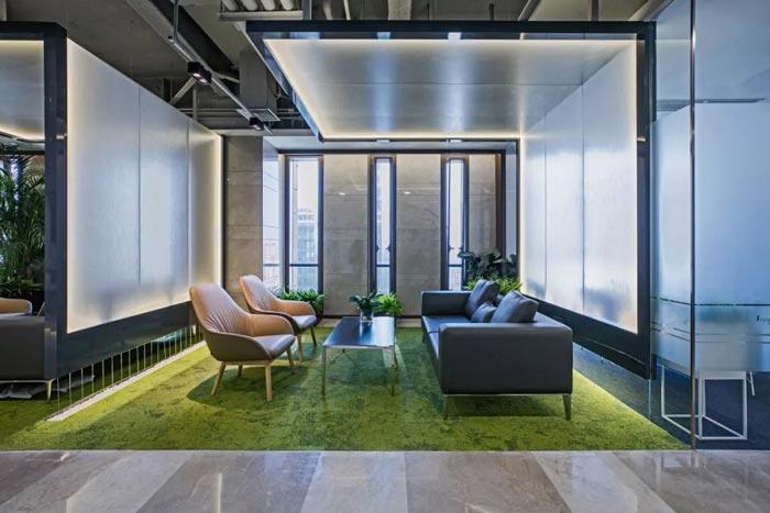 10000平方集團辦公室接待設計方案