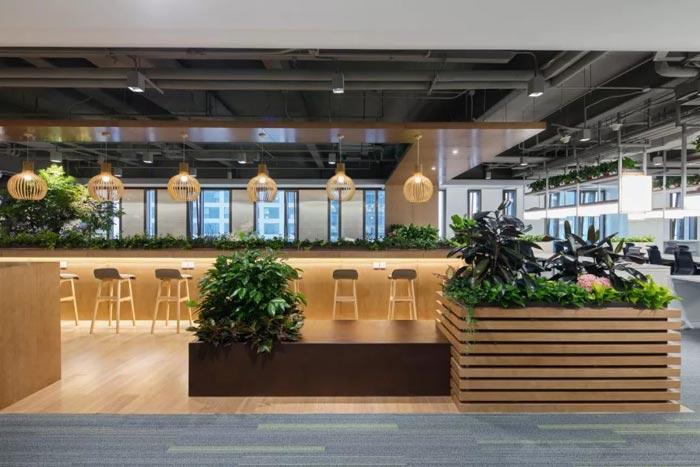 10000平方集團辦公室吧臺設計方案