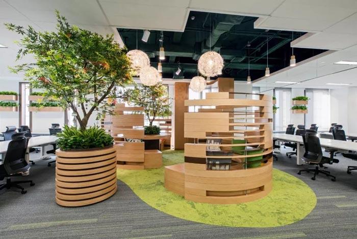 10000平方集團辦公室辦公區設計方案