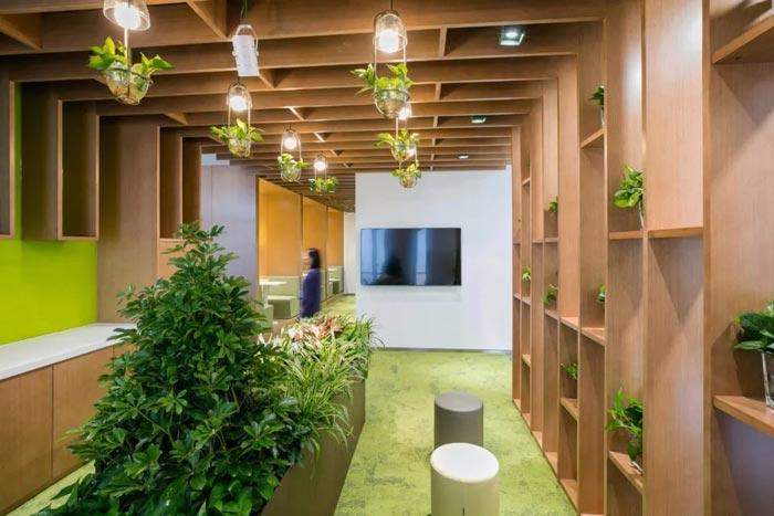 10000平方集團辦公室走廊設計方案