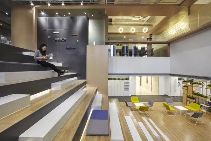 10000平方集團辦公室共享區設計方案