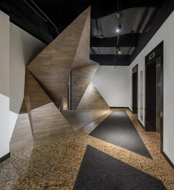 二(2)层办公室设计方案