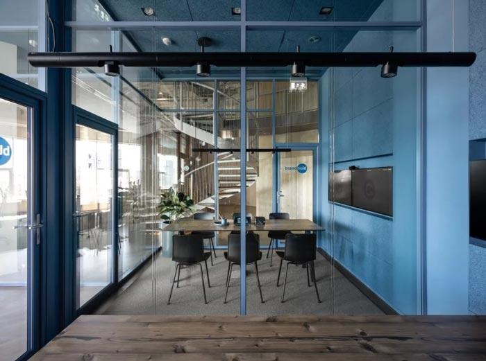 二(2)层办公室接待区设计方案
