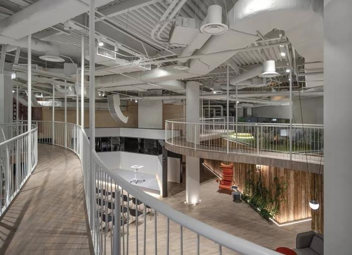 二(2)层办公室空中桥梁设计方案