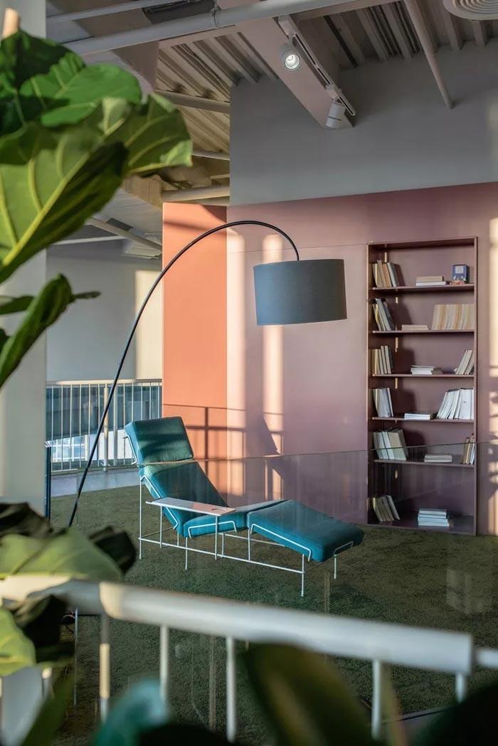二(2)层办公室阅读区设计方案