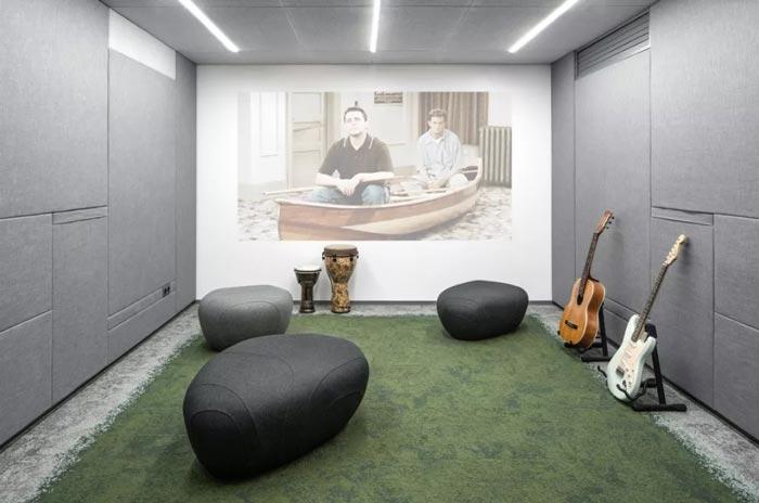 二(2)层办公室休闲区设计方案