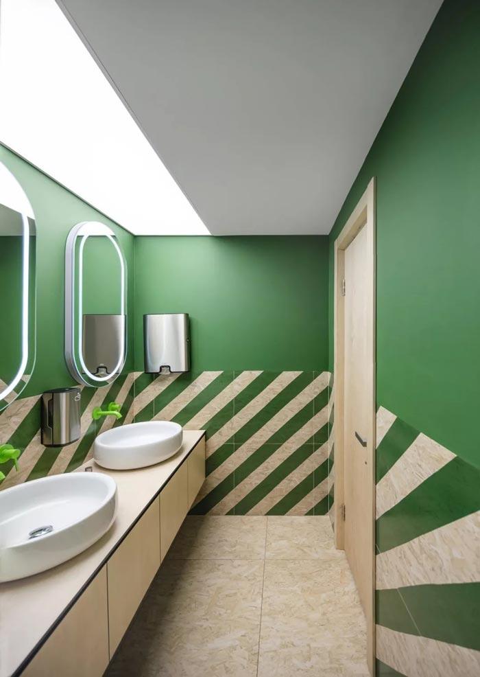 二(2)层办公室卫生间设计方案
