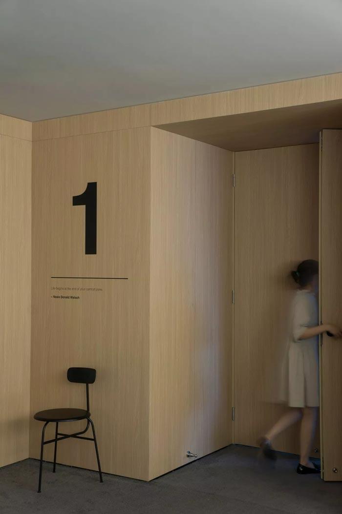 8000平方办公室1号入口设计方案
