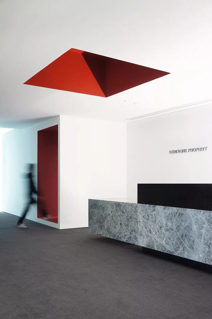 8000平方办公室前台设计方案