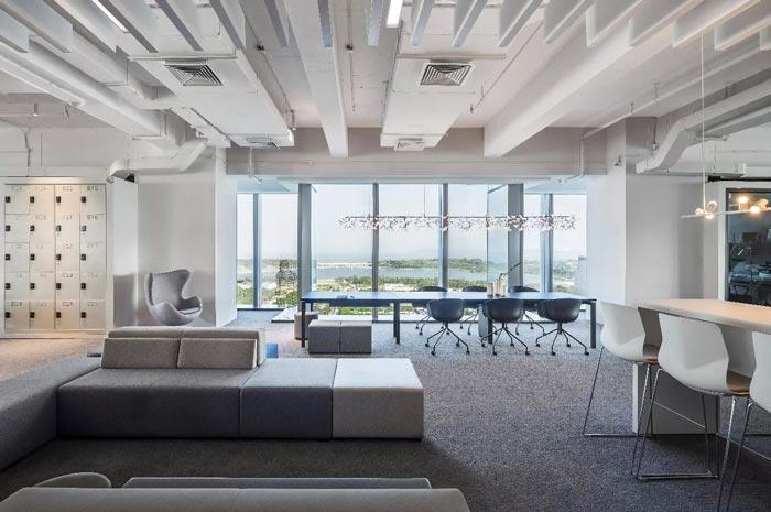 8000平方办公室休闲区设计方案