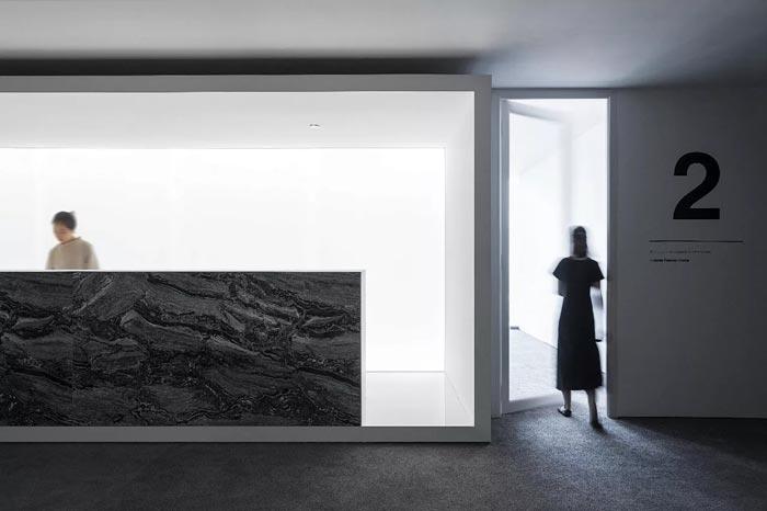 8000平方办公室2号入口设计方案