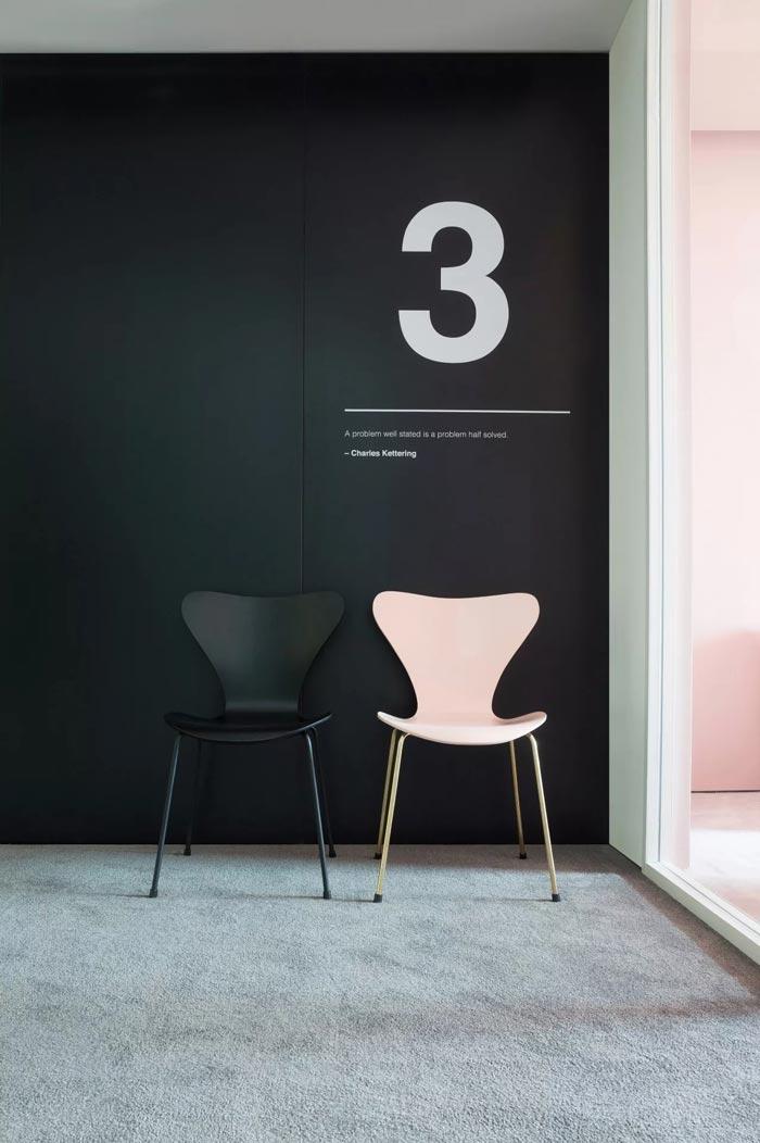 8000平方办公室3号入口设计方案